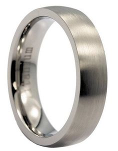 5mm crafted lightly brushed titanium wedding rings. This titanium ring makes a great his and her ring set. SALE $ 64.94