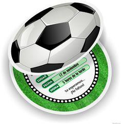 Invitaciones de Pelotas de Fútbol