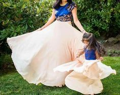Flared Mother Daughter Matching Dress for Party Baby Girl Dresses, Baby Dress, Flower Girl Dresses, Party Wear Dresses, Cute Dresses, Mom Daughter Matching Dresses, Mother Daughter Fashion, Princess Outfits, Mom Dress