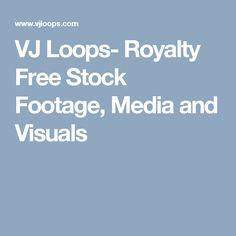 VJ Loops- Royalty Free Stock Footage, Media and Visuals