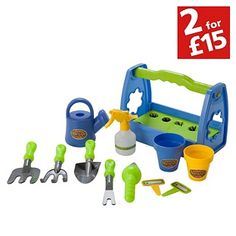 Buy Chad Valley Gardening Set at Argos.co.uk - Your Online Shop for Toys under 10 pounds, Toy garden tools and accessories, 2 for 15 pounds on Toys.