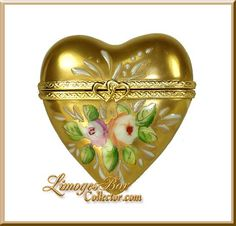 24K Gold Heart w/ Roses (Beauchamp)