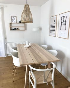 Dining Chairs, Dining Room, Dining Table, Ikea Ypperlig, Ikea Table, Home Projects, Future House, Sweet Home, Decoration