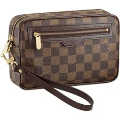 Louis Vuitton Damier Ebene Canvas Macao Clutch N61739 AIR