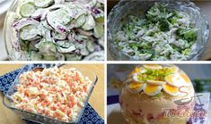 Recept 9 frissítő saláta a mindennapokra Potato Salad, Cabbage, Food And Drink, Potatoes, Vegetables, Ethnic Recipes, Tips, Cabbages, Potato