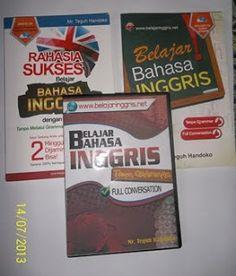 CD dan Buku Belajar Bahasa Inggris