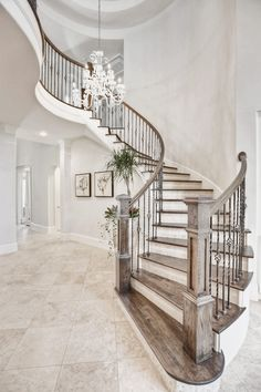 The home remodeling contractor should plan every detail of a project construction and execution. Mesmerizing Home Remodeling Contractor Project Planning Ideas. Home Garden Design, Dream Home Design, My Dream Home, Home Interior Design, Staircase Remodel, Staircase Ideas, Home Remodeling Contractors, Stair Railing Design, House Stairs