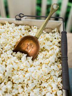 Ideas to create a popcorn bar, A potato chip bar, or hot dog bar