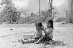 Sam Thong, Laos. A Hair-Do In The Midst of War, 1970