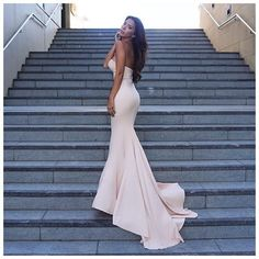 Arianna Dress but in White by Elle Zeitoune