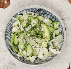 Fennel, Cucumber and Dill Salad