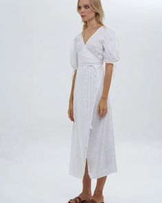 """a63256d8c9f La Confection on Instagram  """"Weekend ready in the Estée Maxi Dress 🕊 100% White  Linen - Shop Online Now   Link in Bio x"""""""