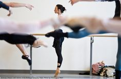 Studio Life: Andreea Olteanu in Company Class at The National Ballet of Canada.