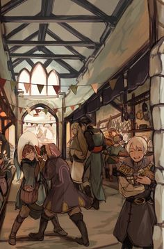 """""""[FIRE EMBLEM] errands with the shepherds! the kind of people that feel like home no matter where you go """""""