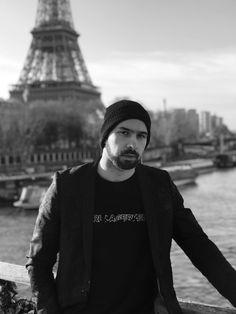Christoph Marti in Paris wearing Karl Lagerfeld by Gloria Pünchera Karl Lagerfeld, Paris, How To Wear, Photo Studio, Montmartre Paris, Paris France