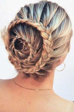 Bun Hair Styles Braids for Girls