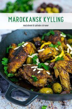 Lchf, Keto, Ras El Hanout, Tandoori Chicken, Paleo, My Favorite Things, Ethnic Recipes, Lemon, Olives