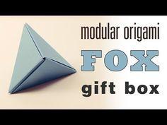 Modular Origami 'Fox Box' Tutorial - YouTube
