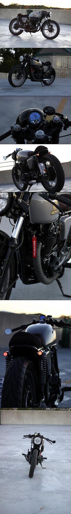 Honda CB 400 Cafe #CafeRacer #Honda #TonUp