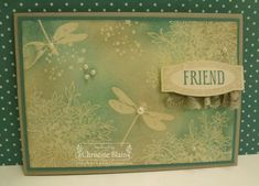HAPPY HEART CARDS: STAMPIN' UP! AWESOMELY ARTISTIC, IN BLUES
