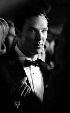 Hello Gorgeous!  Reminds me of a Cary Grant photograph. #Benedict Cumberbatch