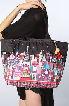 LeSportsac Tote Doll Charm Pocket Attachable Black : MissKL.com - Cutting Edge Women's Fashion, Accessories and Shoes.