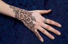 Henna bloemen/flowers