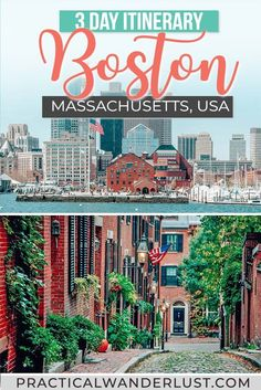 Lobster rolls, ghosts, tea parties, craft beer, baseball, theatre, art, and cannolis: this 3-day Boston itinerary (created by a local) has it all! Here's everything you need to plan a Boston weekend getaway. #travel #boston