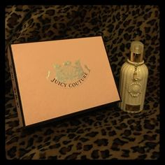 Juicy couture boxed set with ‼️bonus Set of 3 unused rollerball perfumes in the original Juicy Couture fragrance. Each contains .25oz - they are perfect for travel when you can't bring your full size bottle  since 1 rollerball is gone (I used one of them), I am also including a full size (6.4oz) unused body lotion in the Couture Couture fragrance. No trades please. Juicy Couture Other