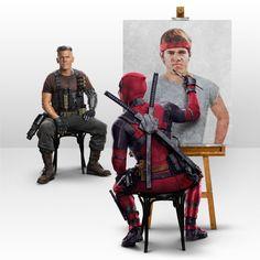 Deadpool Marvel Vs, Marvel Dc Comics, Heros Comics, Marvel Heroes, Ryan Reynolds, Marvel Universe, Deadpool Painting, Comic Book Characters, Comic Books