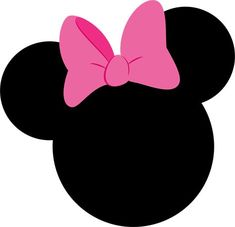Mickey e Minnie 2 - Minus Minnie Mouse Birthday Decorations, Minnie Mouse 1st Birthday, Minnie Mouse Theme, Pink Minnie, Mickey Mouse Clubhouse, Minnie Mouse Template, Minnie Mouse Costume, Mouse Crafts, Disney Frames