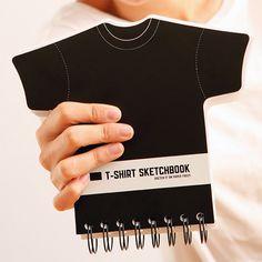 A Sketchbook for designing t-shirts!