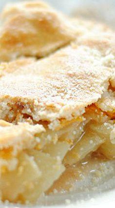 Parmesan Cheddar Apple Pie & Mama Francesca Parmesan Cheese