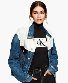 Kaia Gerber, Kaia And Presley Gerber, Kaia Jordan Gerber, Fashion Models, Fashion Brands, Girl Fashion, Fashion Outfits, Jean Calvin Klein, Calvin Klein Outfits