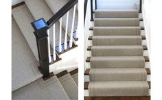When scheming a project, the staircase may not be top of mind as an area to get creative. At Merida, we think there are endless opportunities to make a staircase shine with a well thought out runner expertly installed. Here are five ways to use a wool stair runner to make a statement.