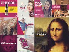 Social Media Sobrancelhas Design Aldeota on Behance