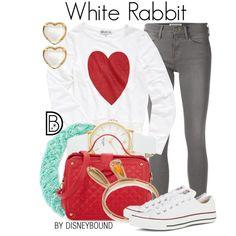 Disney Bound: White Rabbit (Alice in Wonderland) Estilo Disney, Disney Bound Outfits, Disney Dresses, Disney Clothes, Cute Disney, Disney Style, Disney Pics, Alice In Wonderland Outfit, Disney Inspired Fashion