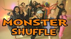 """""""Monster Shuffle"""" is a fun Halloween dance song for children. This song is a blast and is great for brain breaks, group activities and indoor recess. It's also a HIT to perform on family night! Also, it teaches listening skills, following directions and left/right discrimination."""