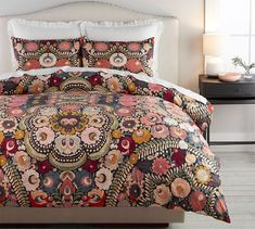 When life gives you lemons, make your bed! Printed on luxe percale, our fruity, fresh Capri Lemon Duvet Cover and Shams reenergize your bedroom after the long winter months. All of the cotton sourced for this bedding is GOTS-certified, which is th… Neutral Bedding, Floral Bedding, Full Duvet Cover, Duvet Covers, Hygge, Pottery Barn Duvet, Master Bedroom, Bedroom Decor, Bedroom Ideas