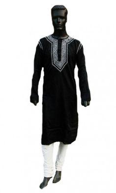 Mens Long shirt bohemian dress kurta tunic top black beach wedding 21b5cd291b