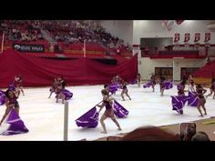 ▶ Lawrence Central Winterguard Weapons and Dancing need lots of cleaning, but I liked the fabric idea, and the music!