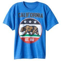 Boys 8-20 California Republic Tee, Size: Medium, Green Oth