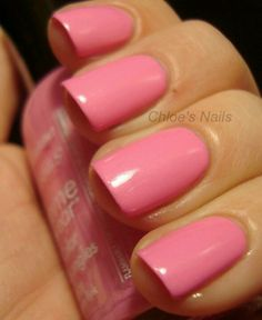 LOVE LOVE THIS COLOR!! I have it...it's called Bubble Gum Pink by Sally Hansen Extreme!!!! <3