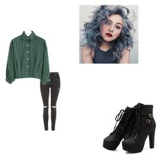 """""""Untitled #149"""" by morgan-kitty-henley on Polyvore featuring Topshop"""