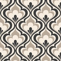"""Brewster Home Fashions Simple Space II Lola Ogee Bargello 33' x 20.5"""" Damask 3D Embossed Wallpaper & Reviews 