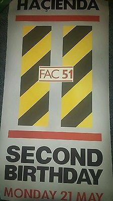 Factory records new order poster