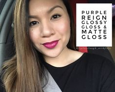 SeneGence/LipSense Distributor 313871  Purple Reign, Glossy Gloss, & Matte Gloss