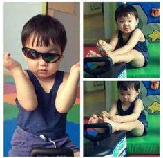 Embedded image permalink Superman Kids, Korean Tv Shows, Man Se, Song Daehan, Song Triplets, Cute Songs, Cute Faces, My Children, My Boys