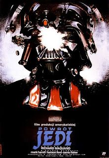Polish poster for RETURN OF THE JEDI