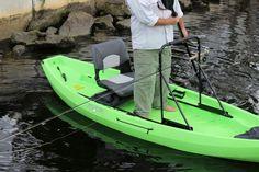 NuCanoe stand up bar Kayak Bass Fishing, Fishing Life, Fishing Boats, Kayak Stand, Kayak Paddle, Up Bar, Fishing Charters, Kayaks, Canoeing